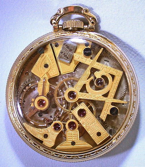Bogoff Antique Pocket Watches Dudley Masonic - Bogoff